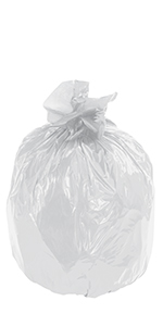 """40 x 46"""" 40 Gallon Clear Industrial Trash Liners"""