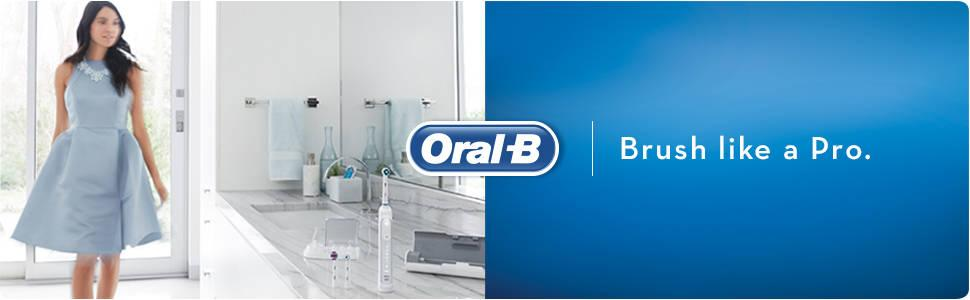 Oral-B Genius 8000 Electric Rechargeable Toothbrush Powered by Braun