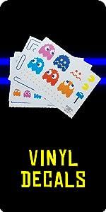 Pac-Man Vinyl-Aufkleber