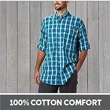 !00% Cotton Comfort