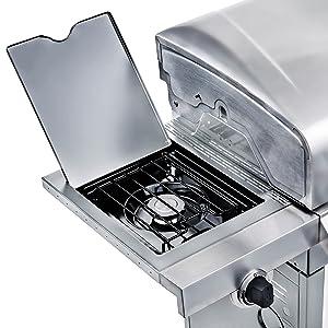 gas;side;sides;burner;burn;wok;lid;lidded;stainless;gravy;sauce;starch;veggie;vegetables;work;prep