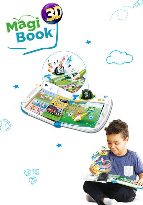 magibook, magipen, magibook 3d, vidéo, livre interactif