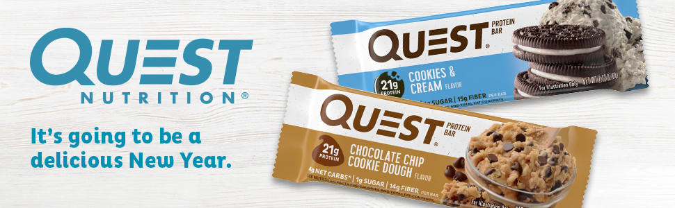 Amazon.com: Quest Nutrition- High Protein, Low Carb, Gluten Free, Keto Friendly, 12 Count: Health & Personal Care