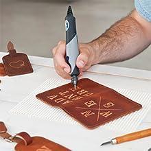 Stylo+;rotary;tool;kit;multi;DIY;leather;leatherwork;Stylo;Plus;engrave;custom;gift;project;craft