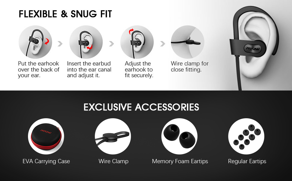 mpow bloothtooth headphones bluetooth headphones bluetooth earbuds wireless earbuds wireless in ear