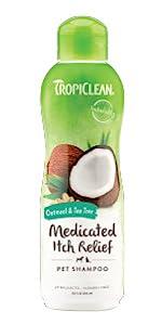 oatmeal & tea tree medicated itch relief shampoo