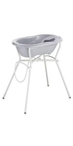 Rotho Babydesign Cambiador de cuña, Desde 0 meses, 70x50x10cm, Blanco, 200990001: Amazon.es: Bebé