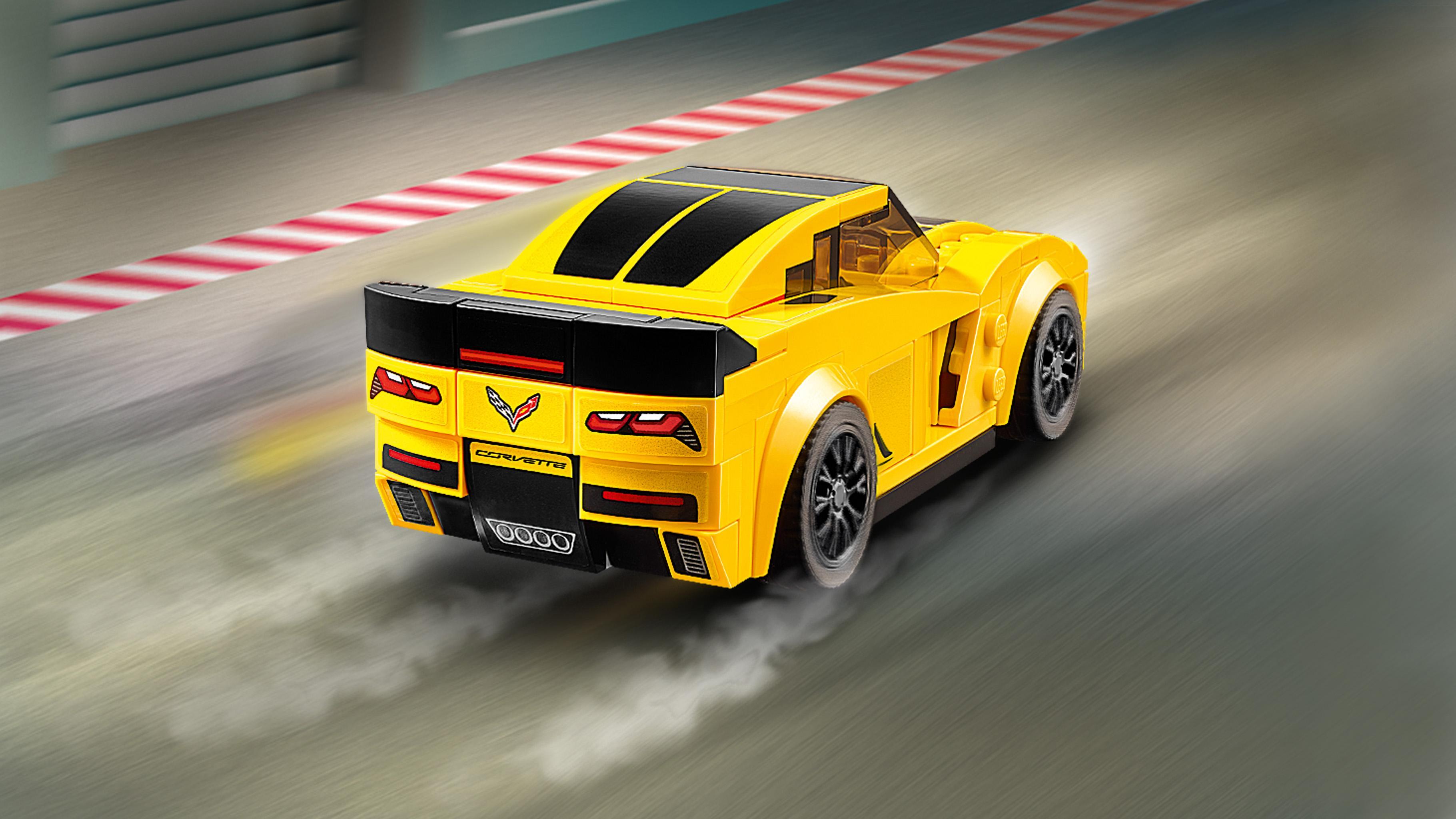 LEGO Speed Champions 75870 - Chevrolet Corvette Z06