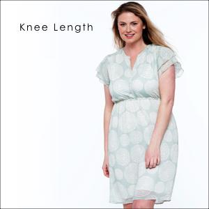knee length