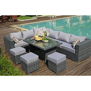 Garden Furniture, Rattan Furniture, Outdoor Furniture, Papaver Collection, Sofa Set