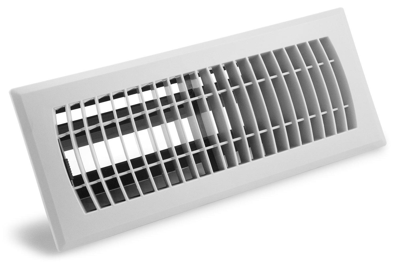 Accord Ventilation Apfrwhl410 Plastic Floor Register With