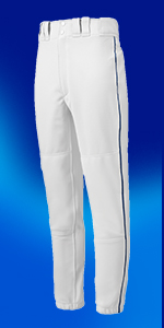 White//Black Details about  /Mizuno Youth Premier Piped Pant Youth Small