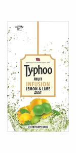 Typhoo Orange Spicer Fruit Infusion Tea, 25 Tea Bags