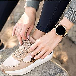 fitness tracker wasserdicht fitness tracker mit pulsmesser smartwatch android uhr