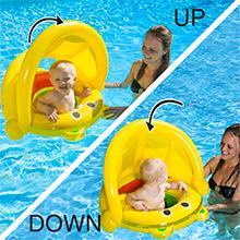 canopy float baby,swim floatie baby,swim canopy baby,pool canopy baby,pool infant float