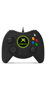 Black Duke Controller Xbox Classic Windows PCs Big Comfortable Ergonomics
