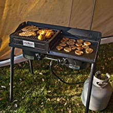 cooker double burner best camping coleman stansport camp outdoor cooking kitchen explorer 2x 3x cook