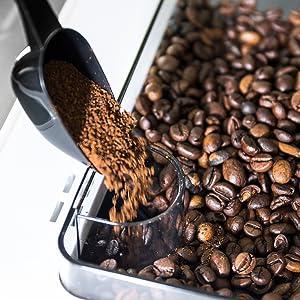 Para café en grano o molido