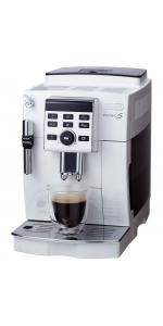 デロンギ コンパクト全自動コーヒーマシン マグニフィカS ホワイト ECAM23120WN