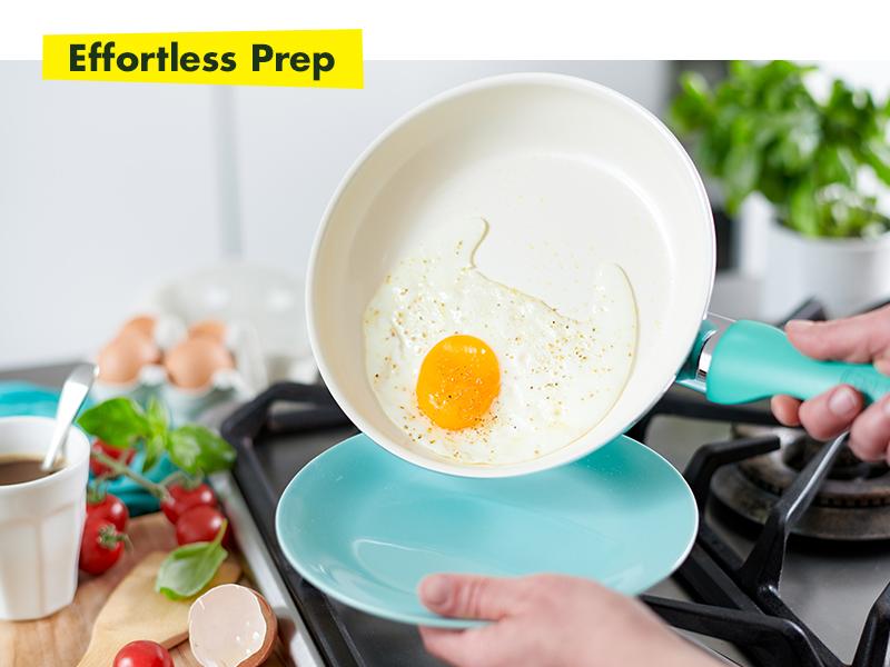 GreenPan, Rio, Healthy Ceramic Non stick, Cookware set, fry pan, durable, diamond, colorful, set