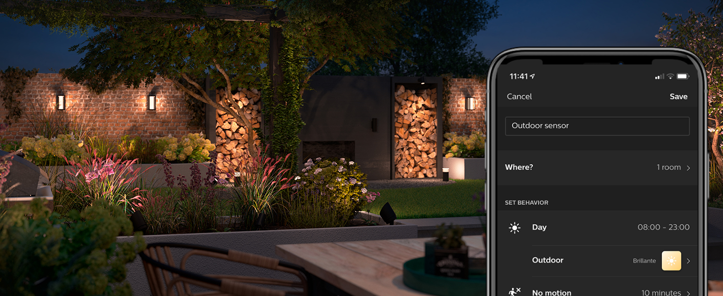 Philips;Hue;smart lighting;outdoor;LED;color;security;ambiance;smart home;voice controlled;app