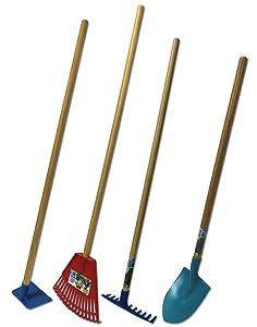 Garden Gardening Tools Landscape Hoe Shovel Kid Kids Rake Ergonimc Children  Child Hand Tool Spade