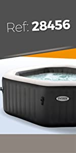 Intex 28408 - Spa hinchable burbujas - 6 personas - 1.098 litros ...