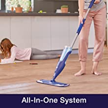 all in one to clean hardwood floors