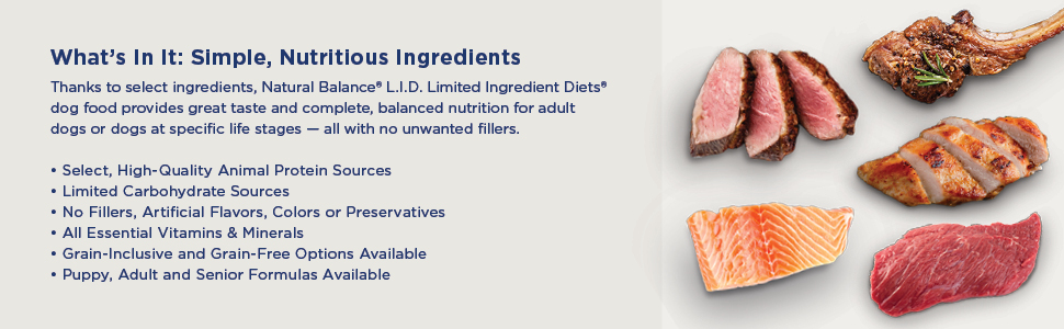 Simple nutritious ingredients adult doges great taste balanced diet 3A