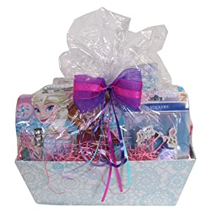 Amazon.com: Christmas Gift Basket Idea 10 Frozen Themed Items for ...