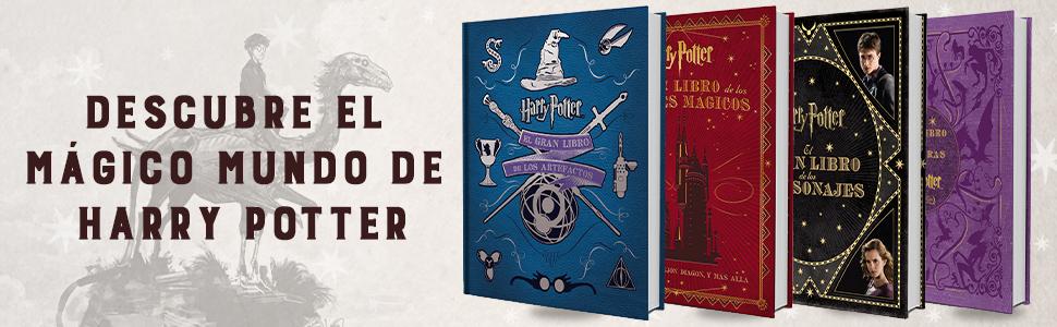 EL GRAN LIBRO DE LOS PERSONAJES DE HARRY POTTER: Amazon.es ...