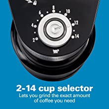 14 cup coffee grinder electric
