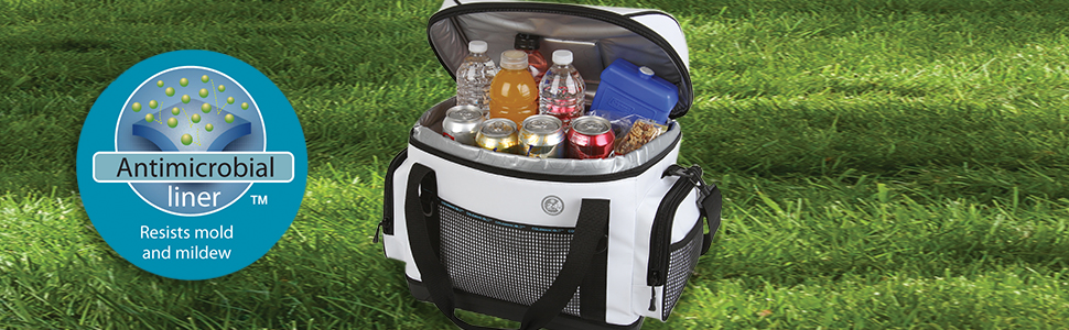 Coleman 42-Can Soft Cooler with Removable Liner /& Wheels 3000001308