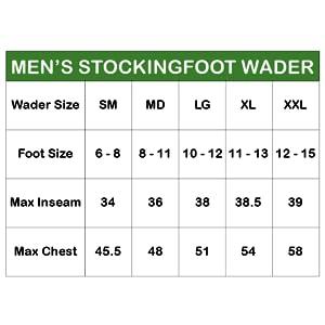Canyon II stockingfoot Wader