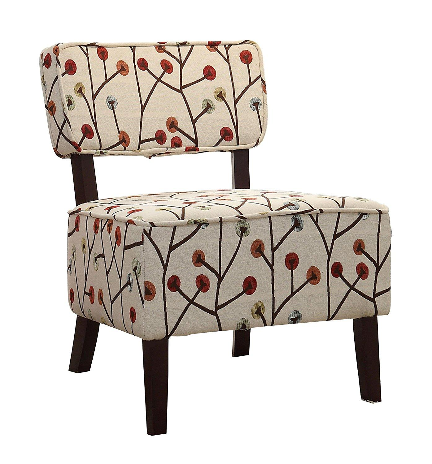 Colorful Kitchen Chairs: Amazon.com: Homelegance 1191F5S Armless Accent Chair
