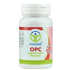 manako OPC vegetarische Kapseln, 110 Stück, Dose a 20,9 g (1 x 110 Kapseln)