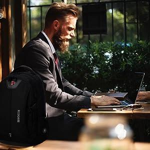 ruigor, backpack, laptop, college, school