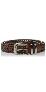 perry ellis braided belt