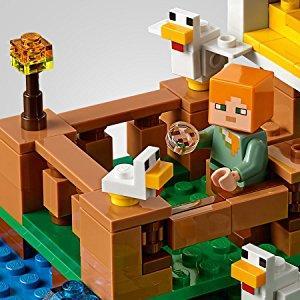 LEGO® Minecraft™ Hühnerstall 198 Teile 21140 LEGO Baukästen & Sets