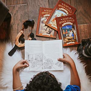 secret of the hidden scrolls time travel adventure series m.j. Thomas magic treehouse Christian book