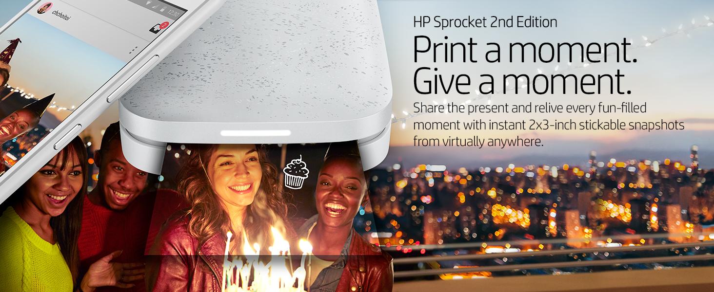 mobile printer photo smartphone color colorful creative friends fun share