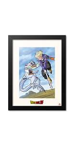 Poster Dragon Ball; quadro decorativo dragon ball