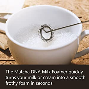 froth soy almond coconut milk frother