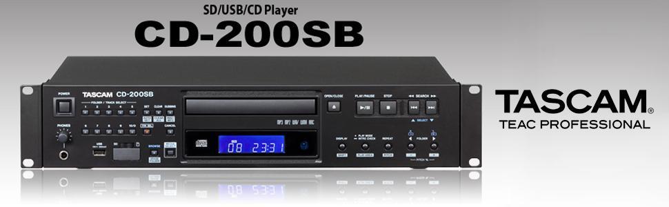 Amazon. Com: tascam cd-200 rack mount cd/dvd player: musical.