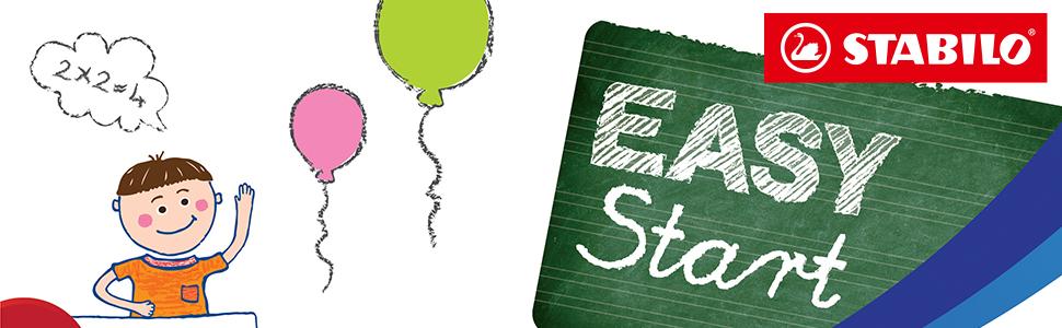 STABILO EASY Start : Apprendre à écrire devient un jeu d'enfant