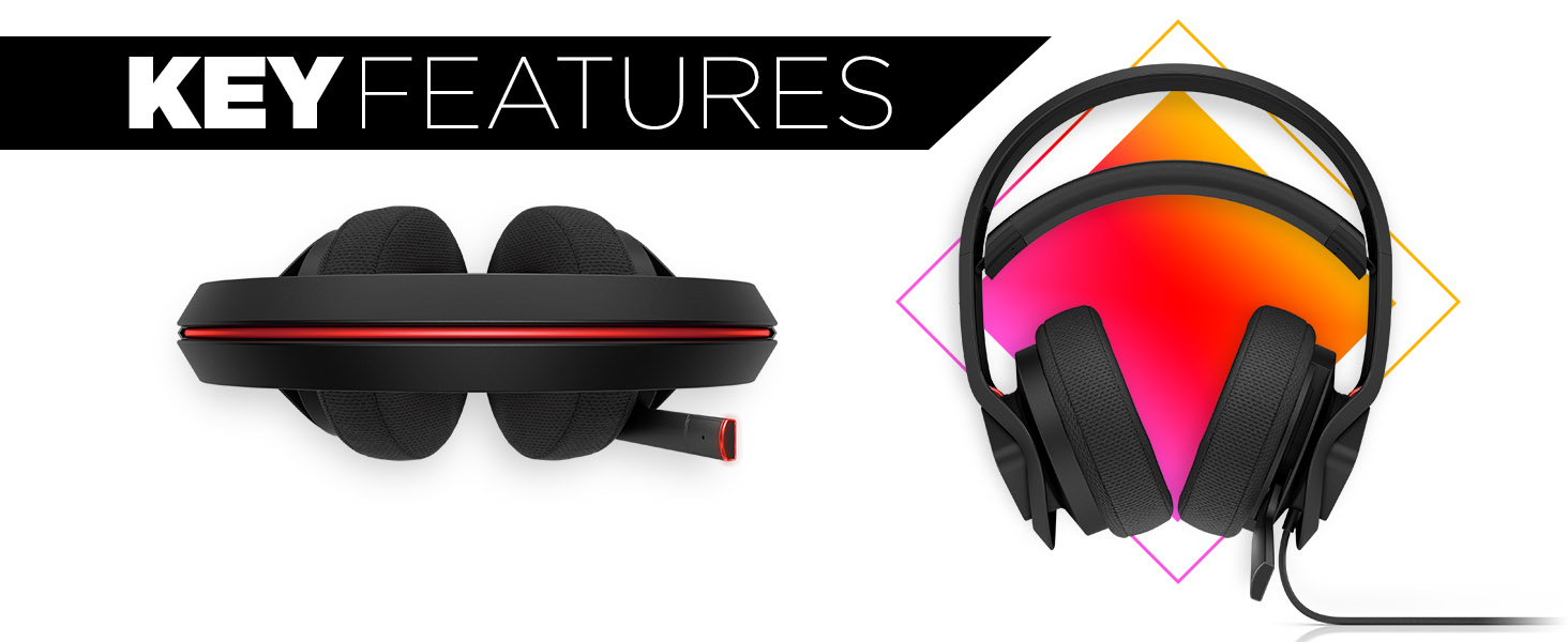 OMEN Mindframe Prime Headset Key Features