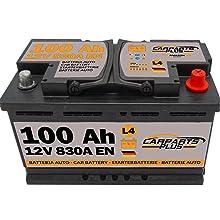 100ah 830A CarPlus L4100CARPARTS Autobatterie