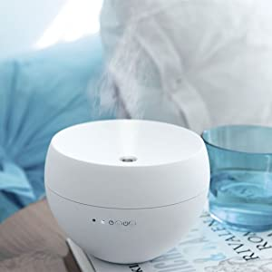 jasmine aroma diffuser, soft touch surface, stylish design diffuser