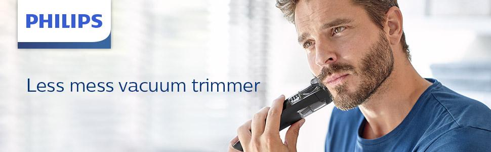 Less Mess vacumm trimmer