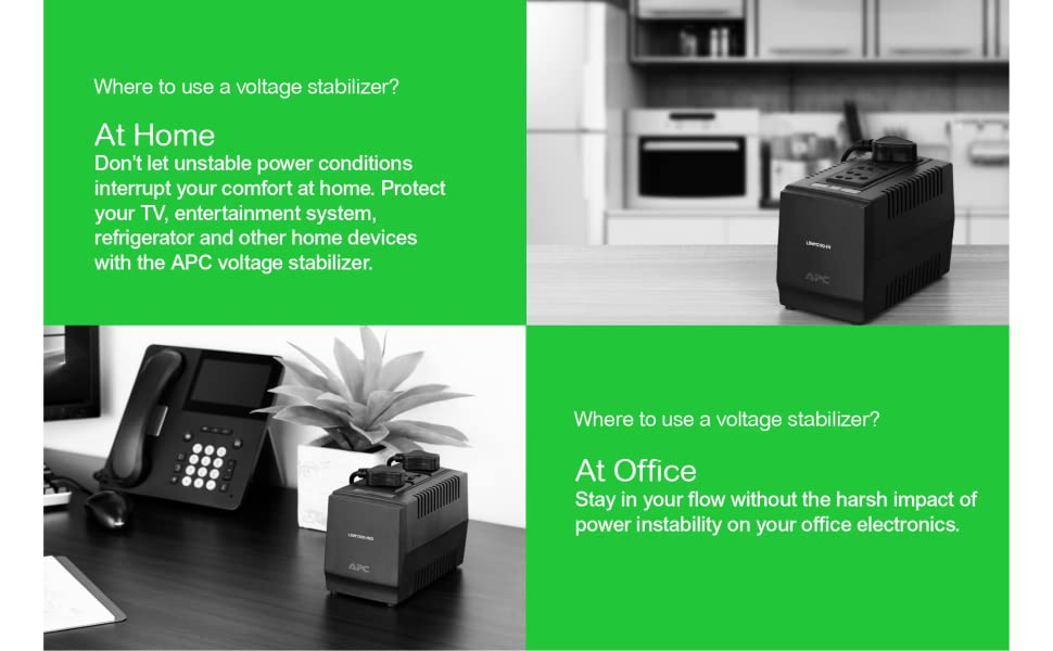 Stabilizer, UPS, APC, for home, for office